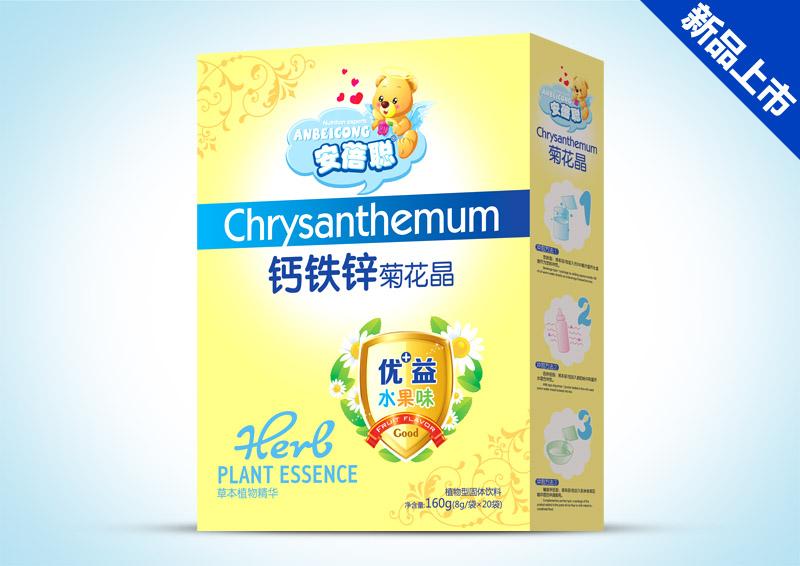 菊花晶盒装-钙铁锌