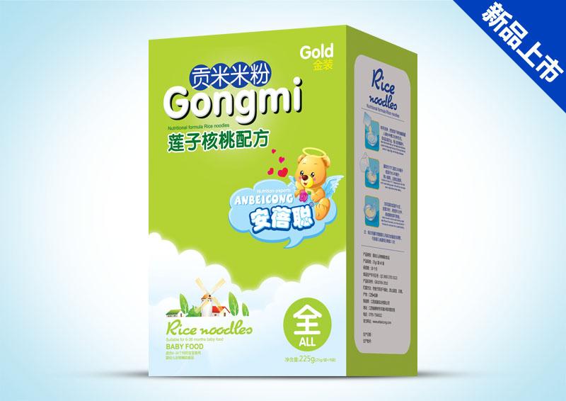 贡米米粉盒装-莲子核桃