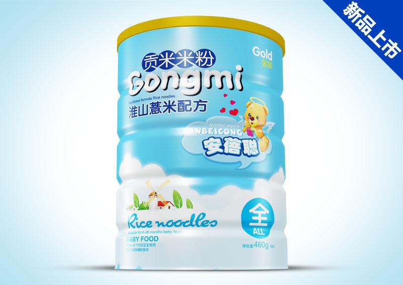 贡米米粉铁听-淮山薏米