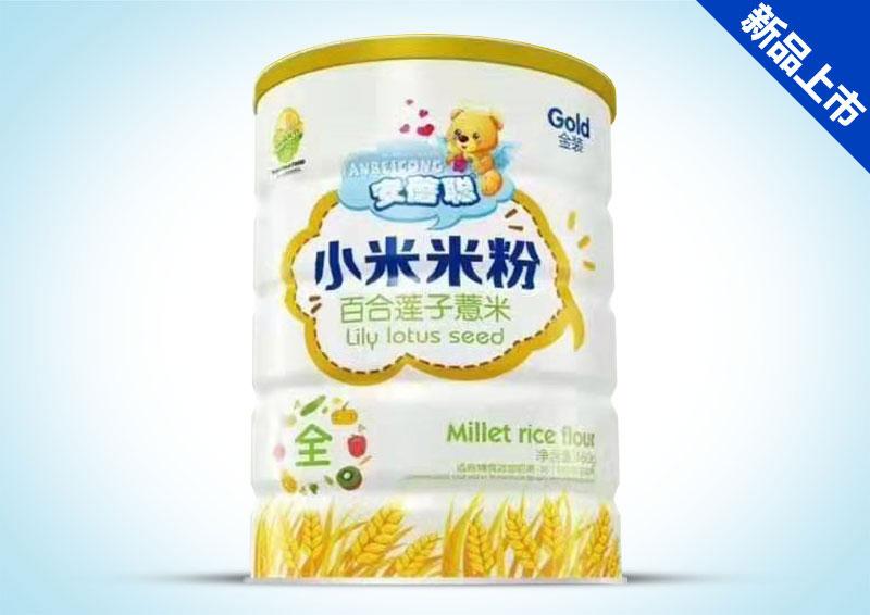 百合莲子薏米小米米粉