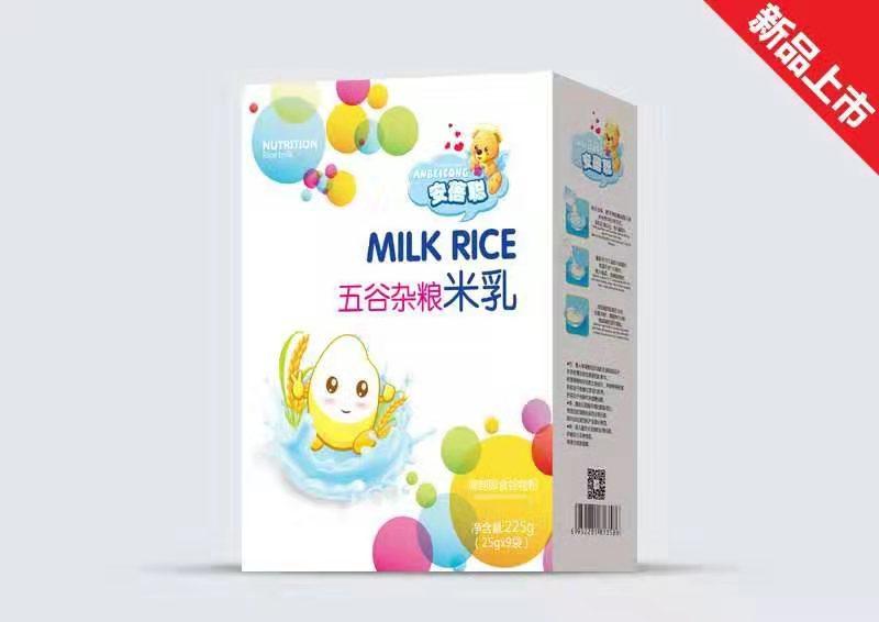 五谷杂粮米乳盒装