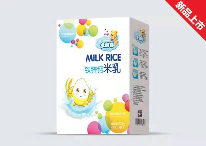 铁锌钙米乳盒装